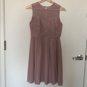 J Crew Dusty Thistle Clara Bridesmaid Dress SZ 4P